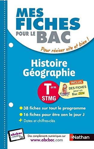 Mes fiches pour le BAC Histoire Géographie Term STMG