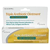 Triple Antibiotic First Aid Ointment, 1oz per Tube