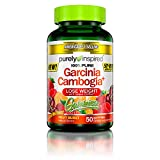 Garcinia Cambogia Weight Loss Gummies | Purely Inspired 100% Pure Garcinia Cambogia | Weight Loss for Women & Men | Weight Loss Supplement | Stimulant-Free Weightloss Gummy | Fruit Burst, 50 Count