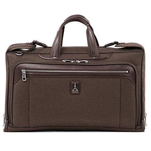 Travelpro Plaitnum Elite-Tri-Fold Carry-On Garment Bag, Rich Espresso, 20-Inch