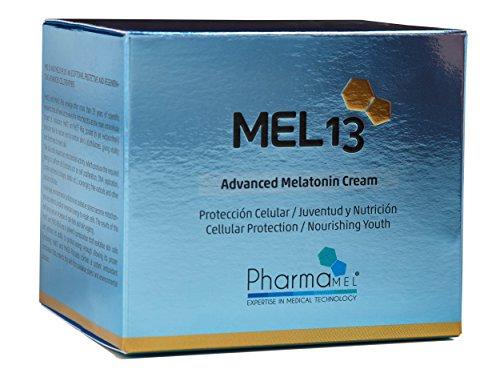 MEL 13 Crema facial con melatonina y Q10 – 50 ml