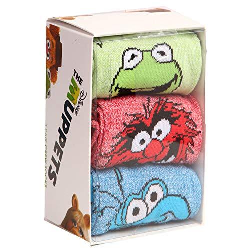 Muppets Kermit Animal Gonzo Socks 3-Pack Box