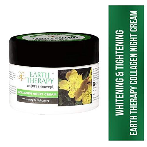 EARTH THERAPY Collagen Night Cream, Multicolor, 50 g