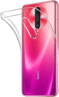 Toppix 対応: Xiaomi Redmi K30 / K30 5G ケース, ソフトTPU シリコーン 薄型 軽量 [Qi 充電 対応] [レンズ保護] [指紋と傷の防止] Xiaomi Redmi K30 / K30 5G用カバー (クリア)