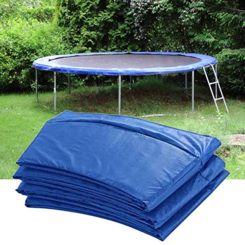 Onlyonehere - Almohadilla de repuesto para trampolín de espuma de seguridad, protección de resortes acolchada, almohadilla de resorte, almohadilla de repuesto para cama elástica, color azul, 8 pies