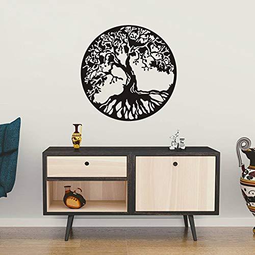 FlyWallD Celtic Tree of Life Wall Art Decal Family Tree Wall Sticker for Living Room Vinyl Bedroom Decor