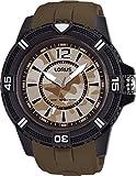 Lorus Herren Analog Quarz Uhr mit Silikon Armband RRX47FX9