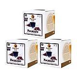 MAGAZZINI DEL CAFFE Mocaccino Solubile, 48 Capsule Compatibili Nescafè Dolce Gusto di Preparato per Bevanda al Gusto di Latte, Caffè e Cacao, Made in Italy, OGM Free, Senza Glutine e Grassi Idrogenati
