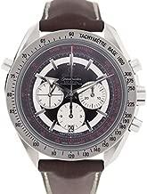 オメガ OMEGA スピードマスター ブロードアロー 腕時計 3882.51.37 スピードマスター ブロードアロー ブラック ブラウン ステンレススチール レザー メンズ クロノグラフ コーアクシャル [並行輸入品]