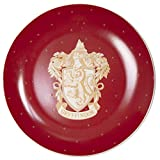 Harry Potter Gryffindor Salad Dessert Plates, Set of 4 - Porcelain - 7.5'