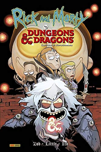 Ricky And Morty Vs. Dungeons & Dragons Vol. 2