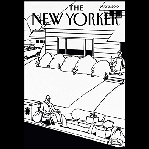 The New Yorker, May 3rd, 2010 (Jill Lepore, Allegra Goodman, John Lahr) cover art