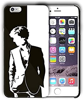 Hard Case Cover with Sherlock Holmes design for Iphone models (sher4) (Iphone 5 5s SE)