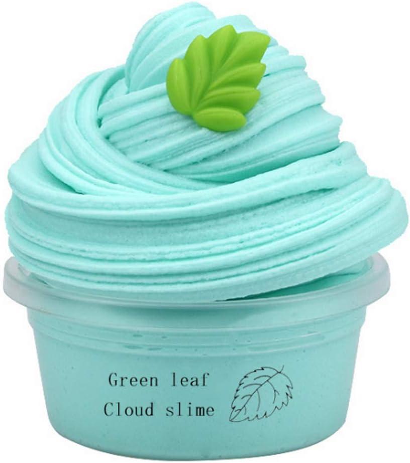 1 pi/èce Fluffy Fruit Slime DIY Slime Multicolore Jouet Slime anti-stress antistress pour Fille et gar/çons