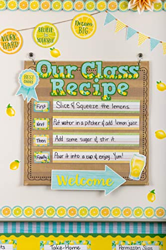 Teacher Created Resources Lemon Zest Name Tags/Labels - Multi-Pack (TCR8483) Photo #3