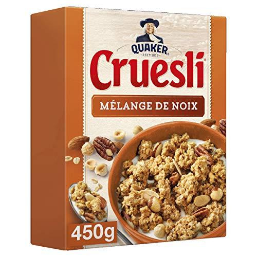 Quaker Cruesli Mélange de Noix 450 g