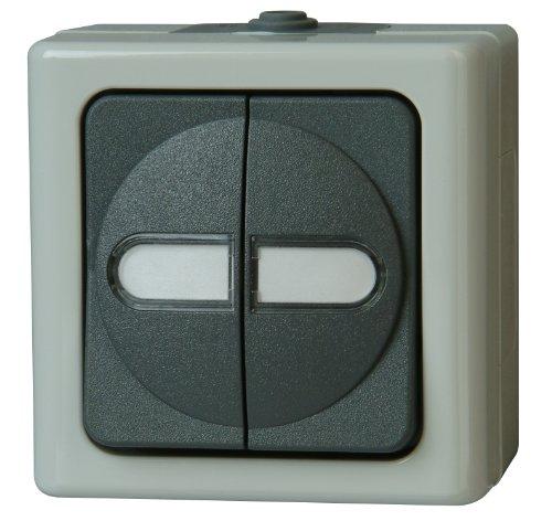 Kopp 560556003 Blue Electric Serienschalter beleuchtet