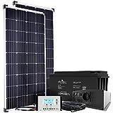 Offgridtec® Autark XL-Master 300W Solar - 1500W AC Leistung 154Ah AGM Akku