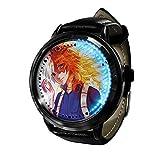 My Hero Academia Reloj con Pantalla táctil Led Resistente al Agua Reloj de Pulsera con luz Digital Unisex Cosplay Regalo Nuevos Relojes de Pulsera niños-A07