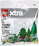 LEGO Pflanzen, Bäume, Sträucher, Blumen, Zäune, Frosch Gelb - Xtra - Set 40310