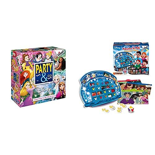 Diset Party & Co Disney Princesas Juego Preescolar A Partir De 4 Años + Disney Adivina La Película ( 46588)