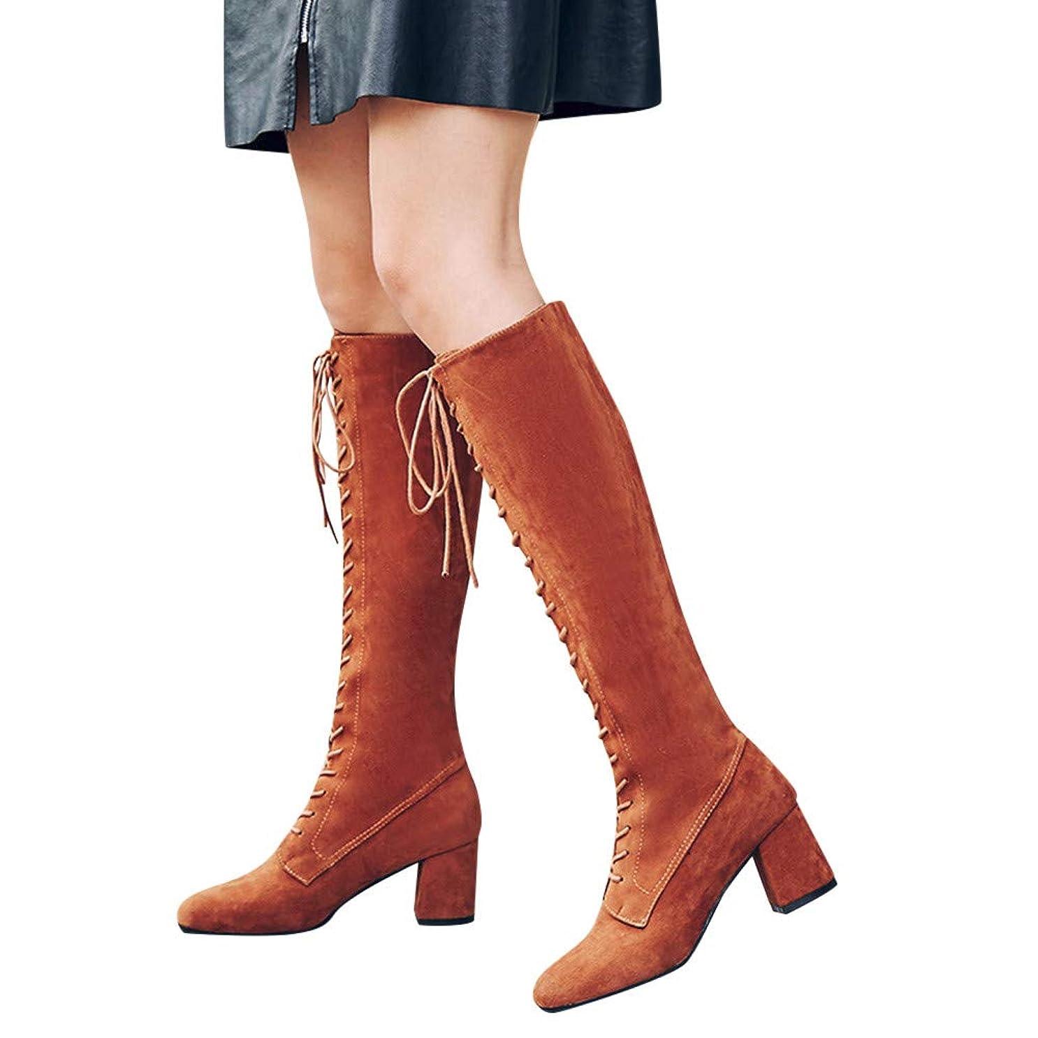 [ブーツ] レディース wileqep 春秋冬 スノーブーツ ロングブーツ マーチンブーツ ショートブーツ 編み上げ ジッパー レースアップ 編み上げ 大きいサイズ プラッシュ 美脚 コスプレ 痛くない 靴 スクエアヒール カジュアル 人気 可愛い 歩きやすい