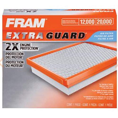 Fram Extra Guard Air Filter CA11877, for Select Jeep Vehicles