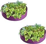 SXLHZPD Bolsa para Plantas Bolsas De Cultivo De Planta De 100 Galones |Espesar Fieltro No Tejido Tela De Tela De Empate Creciendo Macetas |para Flores Vegetales Fruiter Bolsas, 2 Pack