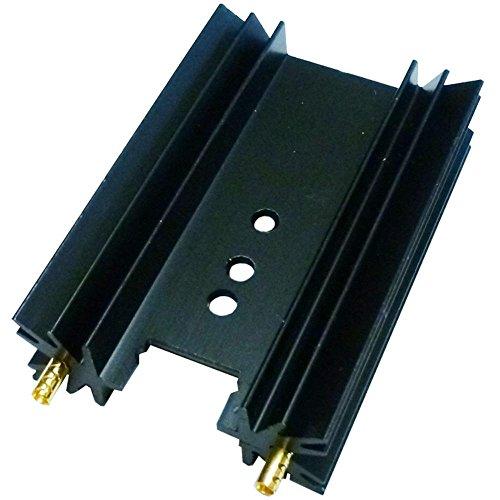 35,6 x 50,8 x 13 mm Kühlkörper für Power Transistor MOSFET IC TO-126 TO-220 TO-247