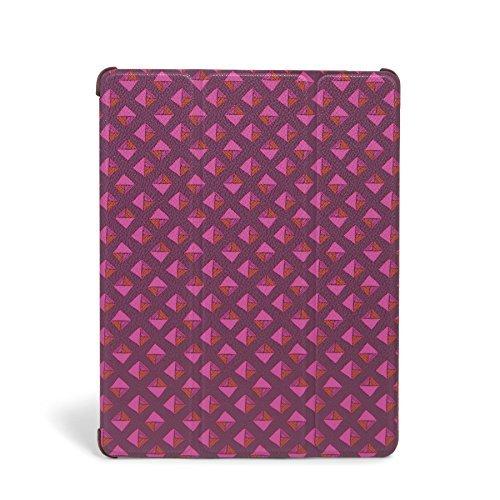 Vera Bradley Flip Fold Tablet Case In Plum Studs