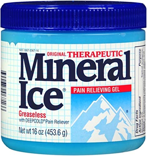 Mineral Ice Pain-Relieving Gel, 16 oz (4 Pack)