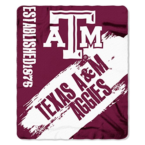 Texas A&M Aggies Painted Fleece Throw Blanket, 50 x 60