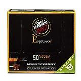Caffè Vergnano Èspresso Cápsulas Café Compatibles Nespresso y Compostables, Napoli - 50 cápsulas 250 g