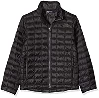 The North Face Boy's Thermoball Full Zip Jacket Black (Large)