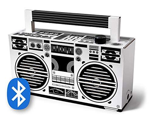 Berlin Boombox Bluetooth blanco