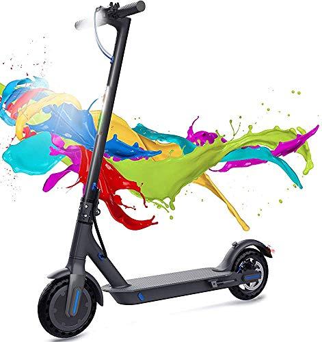 Pedal eléctrico plegable Coche para adulto Vespa eléctrica Ciudad de la ciudad de la bicicleta eléctrica plegable,Black