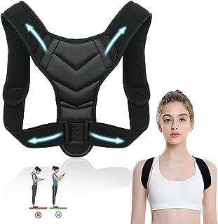 Corrector de Postura, EASYTAO Corrección de Postura Espalda y Hombro para Niños,Hombre y Mujer Transpirable, Talla Asjusta...