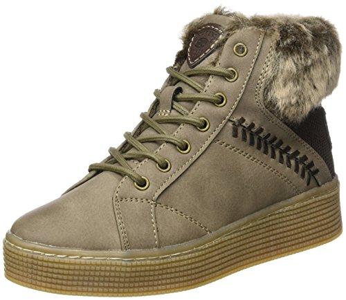 Dockers by Gerli Damen 41AB302 Hohe Sneaker, Braun (Braun 300), 40 EU