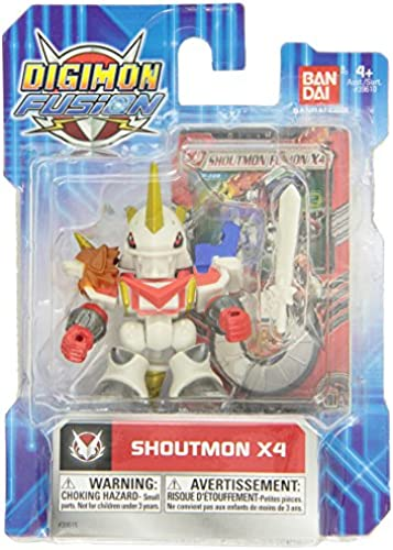 Digimon Fusion Action Figure Shoutmon X4 by Digimon Fusion