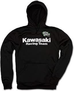 Kawasaki Racing Hooded Sweatshirt Team Green K009-1291-BK