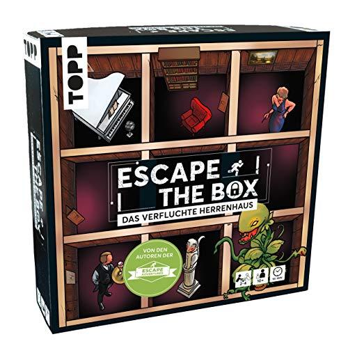Escape The Box - Das verfluchte Herrenhaus: Das ultimative Escape-Room-Erlebnis als Gesellschaftsspiel!