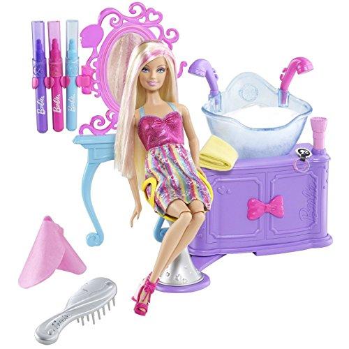 Mattel V4411 - Barbie Glam Haar Styling Salon