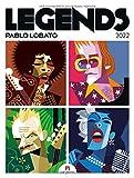 Legends - Pablo Lobato, Musiklegenden Kalender 2022, Wandkalender / Designkalender im Hochformat (50x66 cm) - Musiker-Porträts im Posterformat