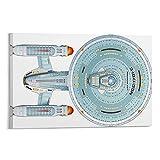 SDFDK USS Enterprise (Raumschiff), Star Trek.1 Poster,