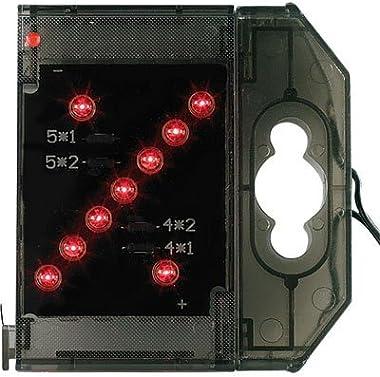 Lunartec Caractère spécial Lumineux à LED -% Rouge