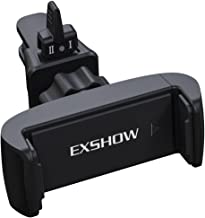 EXSHOW Universal 360 Rotate Car Air Vent Phone Cradle Mount for All 3.5-6 inches Cellphones Including but not Limited iPhone SE/6s/7/8/8plus/X/XS Max,Samsung Series and Most Smartphones(Black)