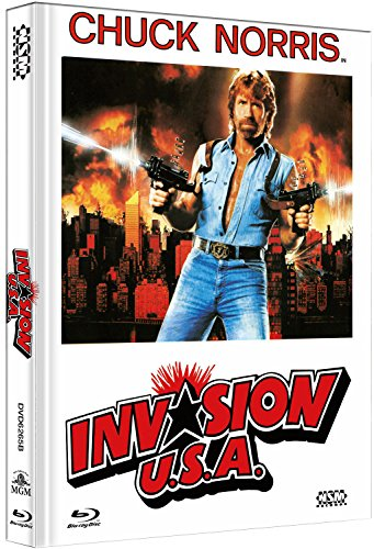 Invasion U.S.A - uncut (Blu-Ray+DVD) auf 333 limitiertes Mediabook Cover B [Limited Collector's Edition]