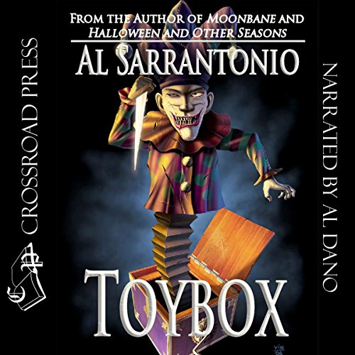 Toybox audiobook cover art