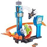 Hot Wheels - Jet Jump Airport Pista de coches de juguete para niños +5 años (Mattel GFH90)