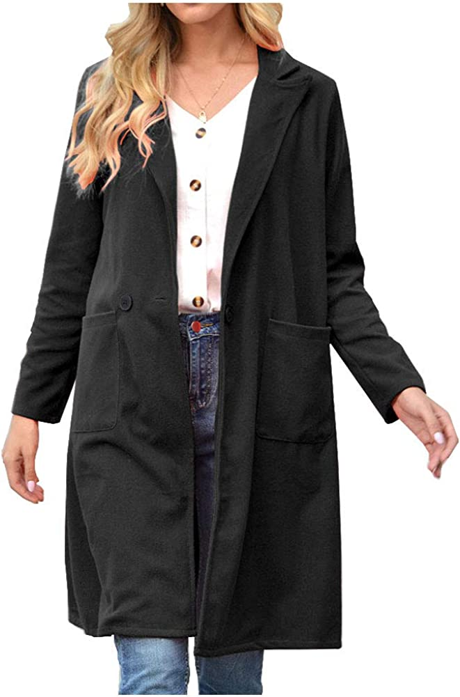 KEDERA Women's Notched Lapel Cheap mail order specialty store Double Breasted National uniform free shipping Blend Trench Cotton
